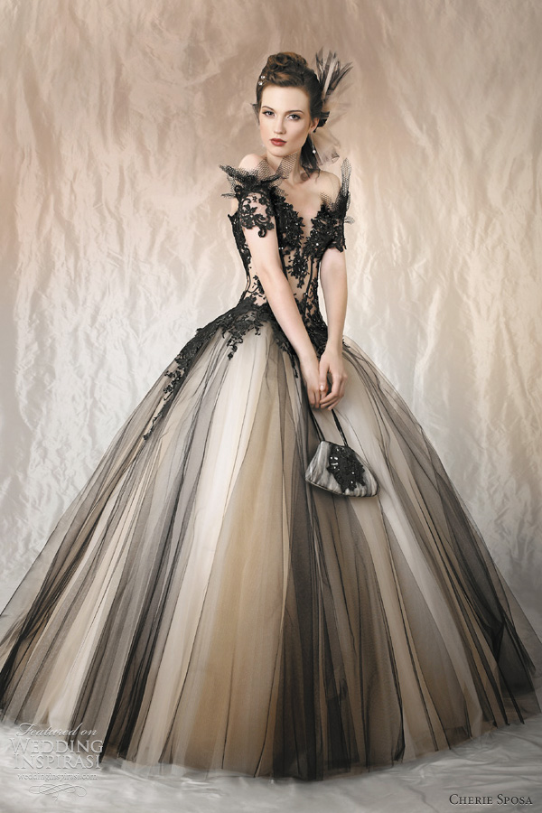 Designer Black Wedding Dresses - Wedding Guest Dresses