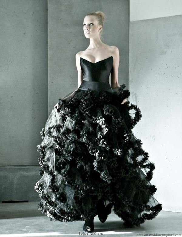 Black Wedding Dress Color : Black wedding dress color